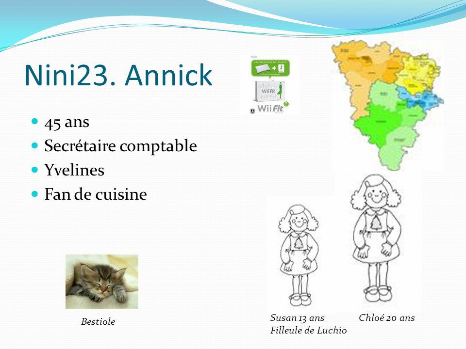 Nini23. Annick 45 ans Secrétaire comptable Yvelines Fan de cuisine
