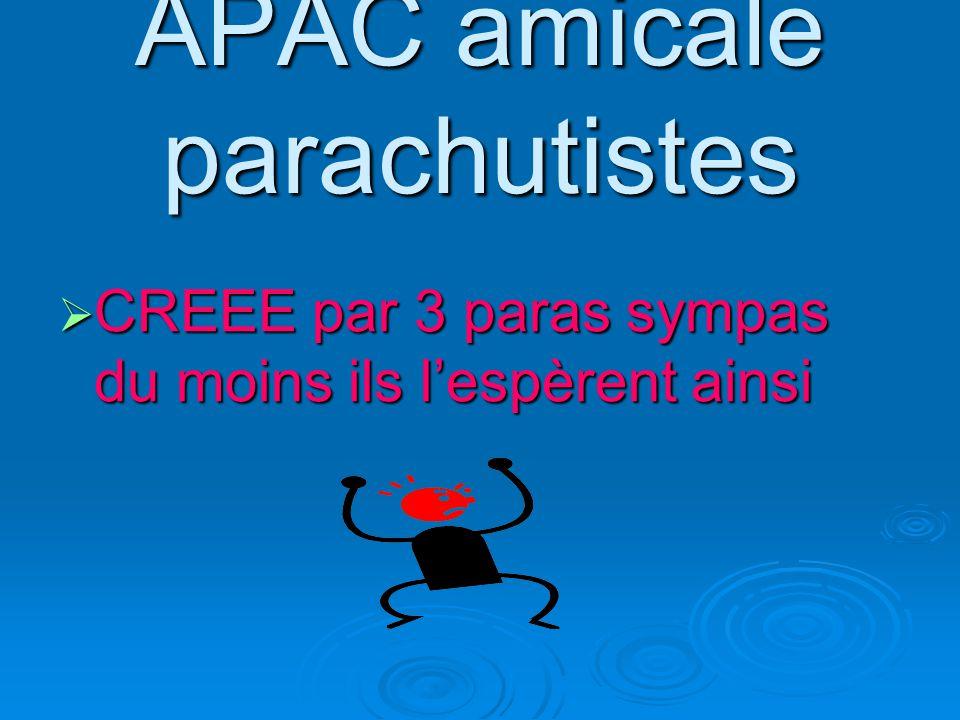 APAC amicale parachutistes