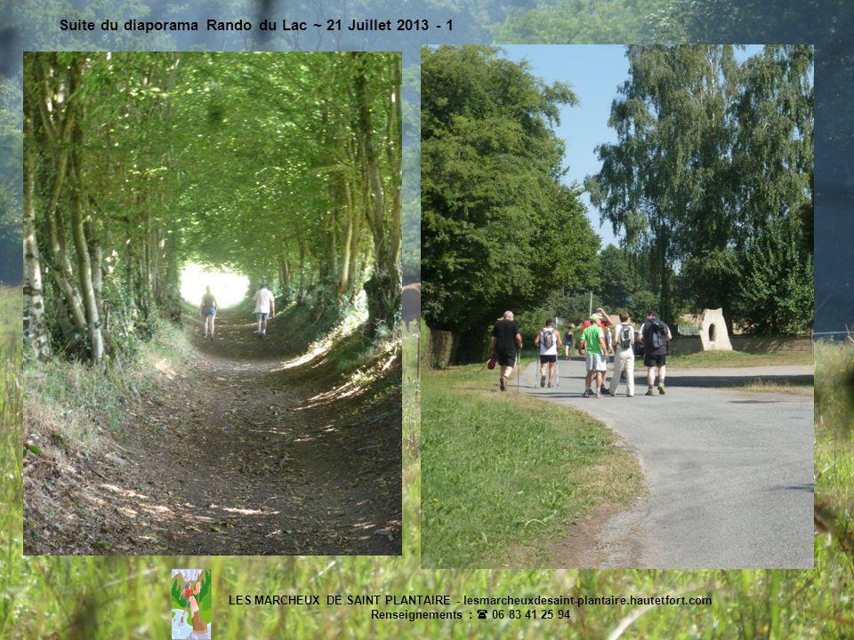 Suite du diaporama Rando du Lac ~ 21 Juillet 2013 - 1