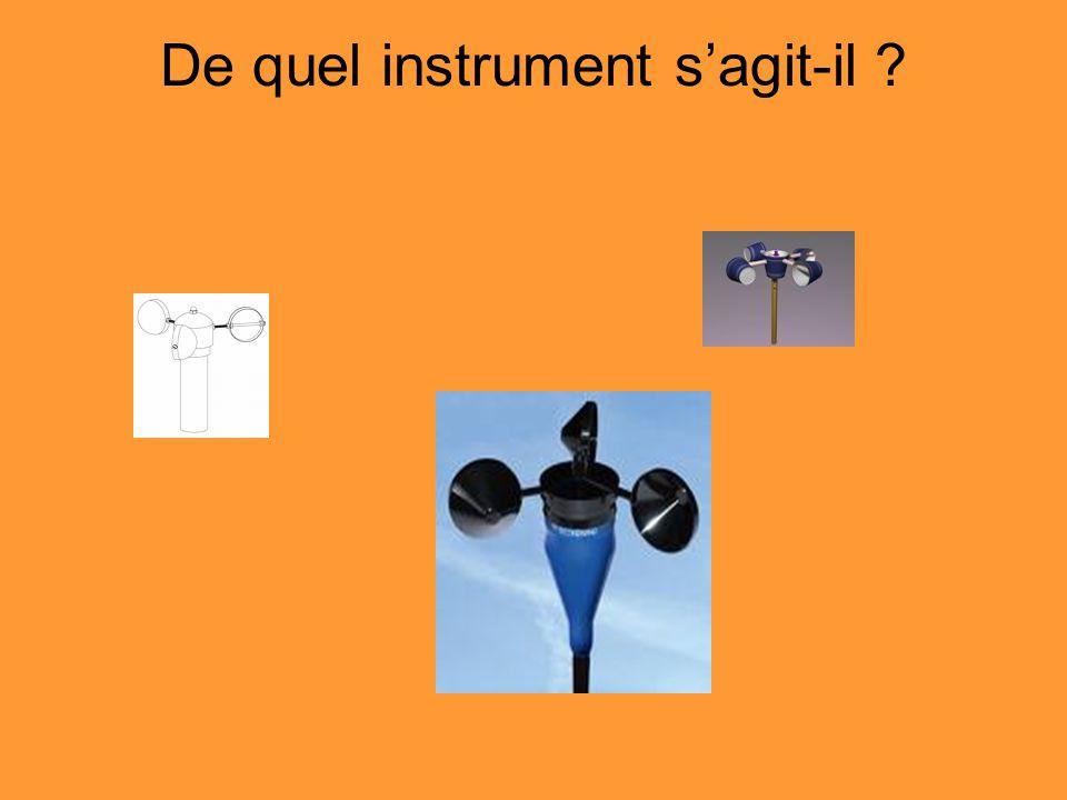 De quel instrument s'agit-il