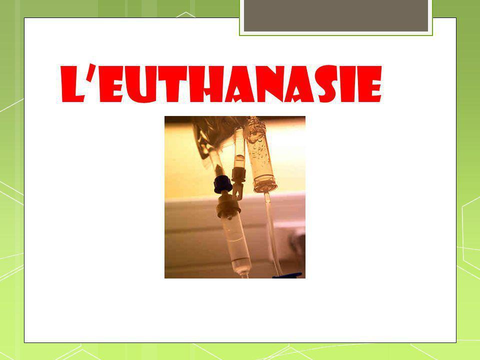 L'euthanasie