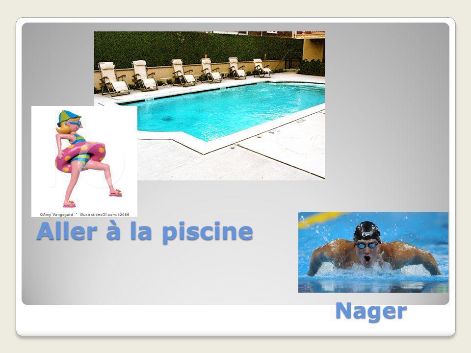 Aller à la piscine Nager