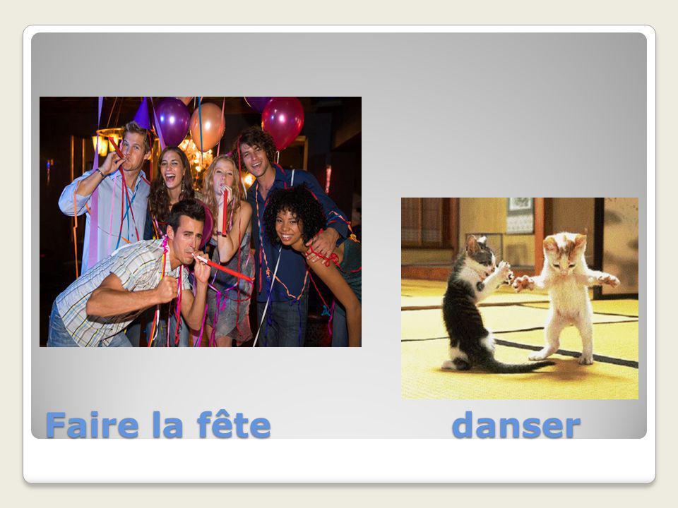 Faire la fête danser
