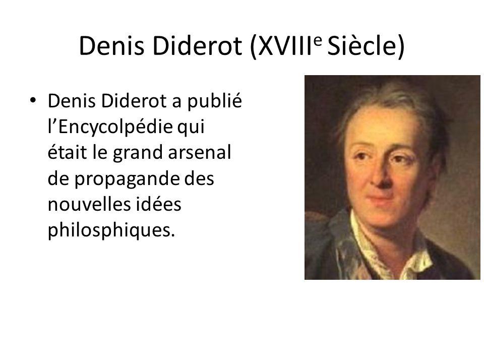 Denis Diderot (XVIIIe Siècle)