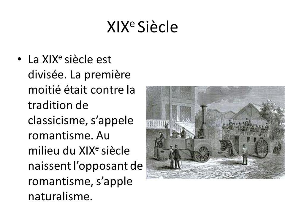 XIXe Siècle