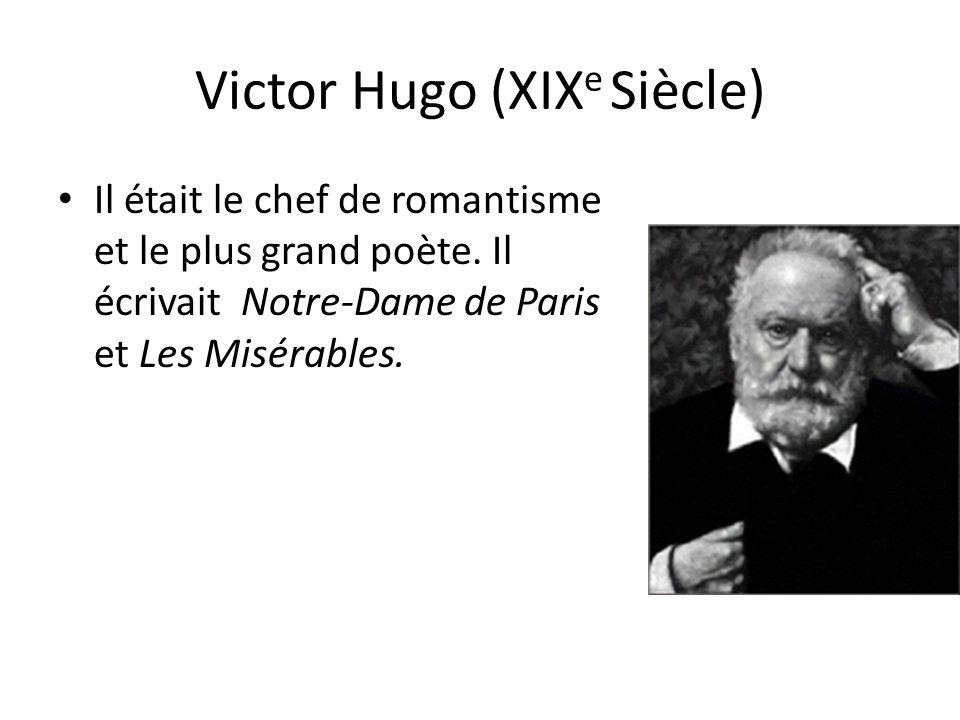 Victor Hugo (XIXe Siècle)