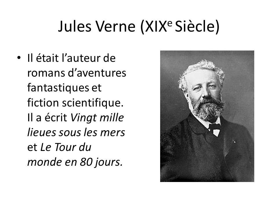 Jules Verne (XIXe Siècle)