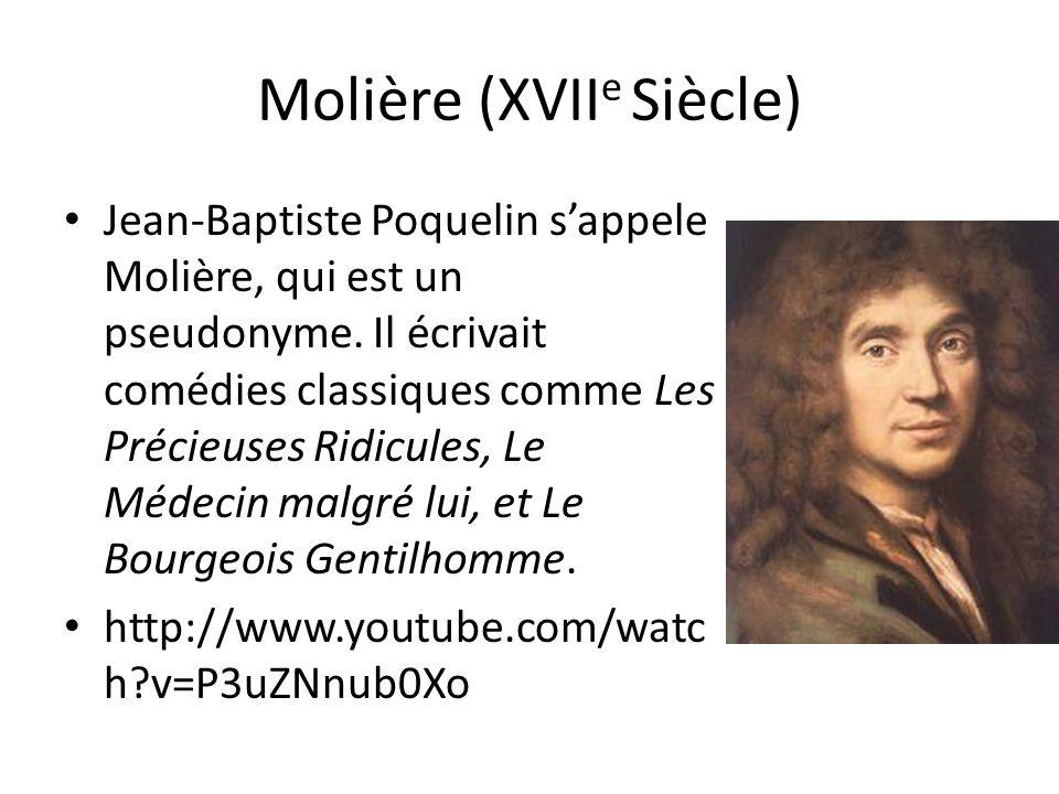 Molière (XVIIe Siècle)