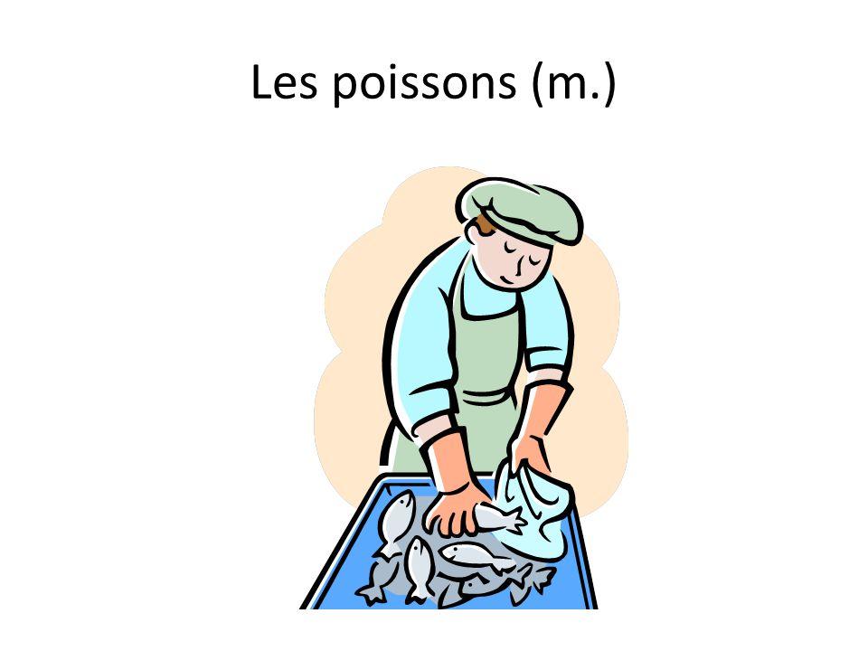 Les poissons (m.)
