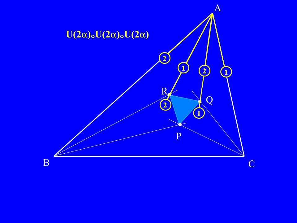 B C P Q R A 1 2 2 1 1 2 U(2)°U(2)°U(2)