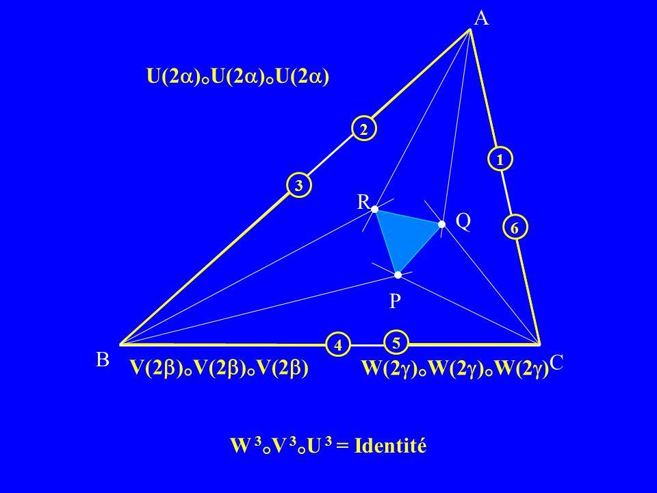 A U(2)°U(2)°U(2) R Q P B C V(2)°V(2)°V(2) W(2)°W(2)°W(2)