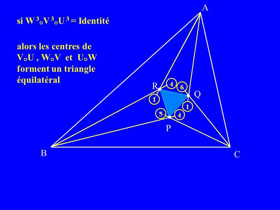 forment un triangle équilatéral