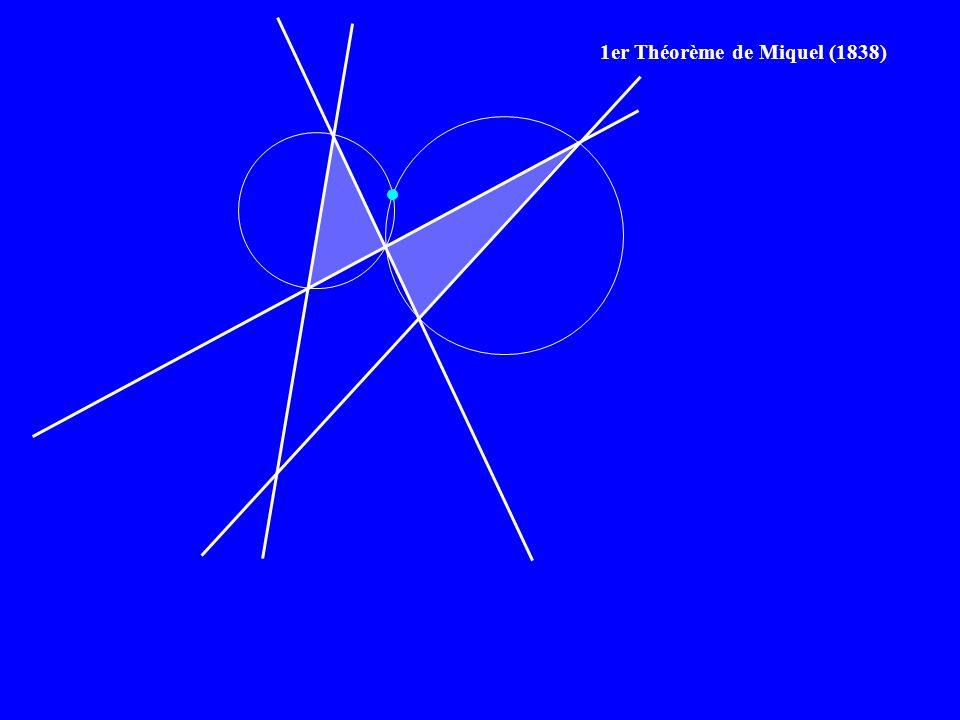 1er Théorème de Miquel (1838)