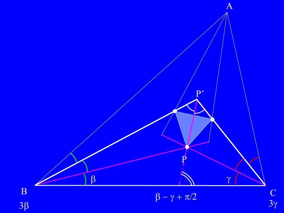 A P' P   B C  3 3 bulles-enveloppes et calculi