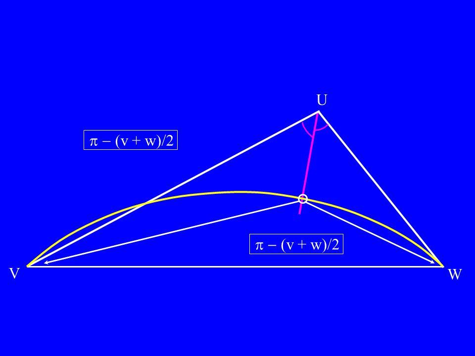 U v + w)/2 v + w)/2 V W
