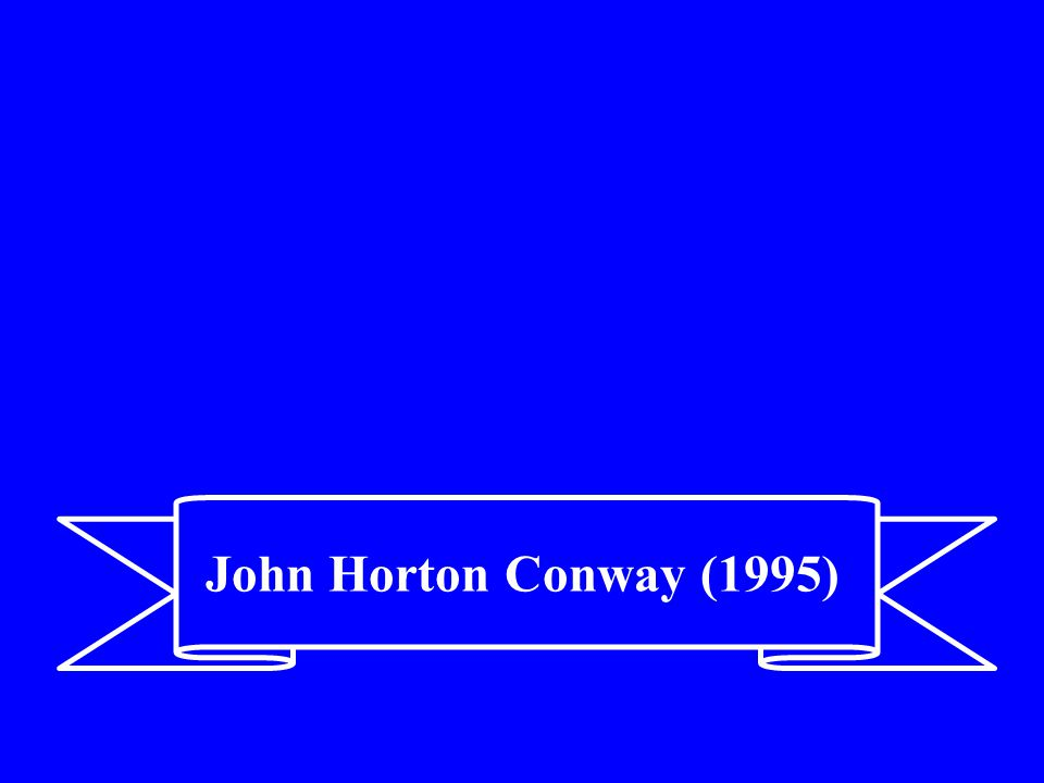 John Horton Conway (1995)