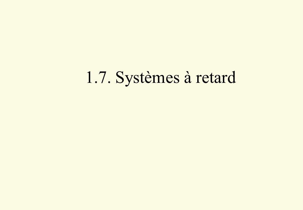 1.7. Systèmes à retard
