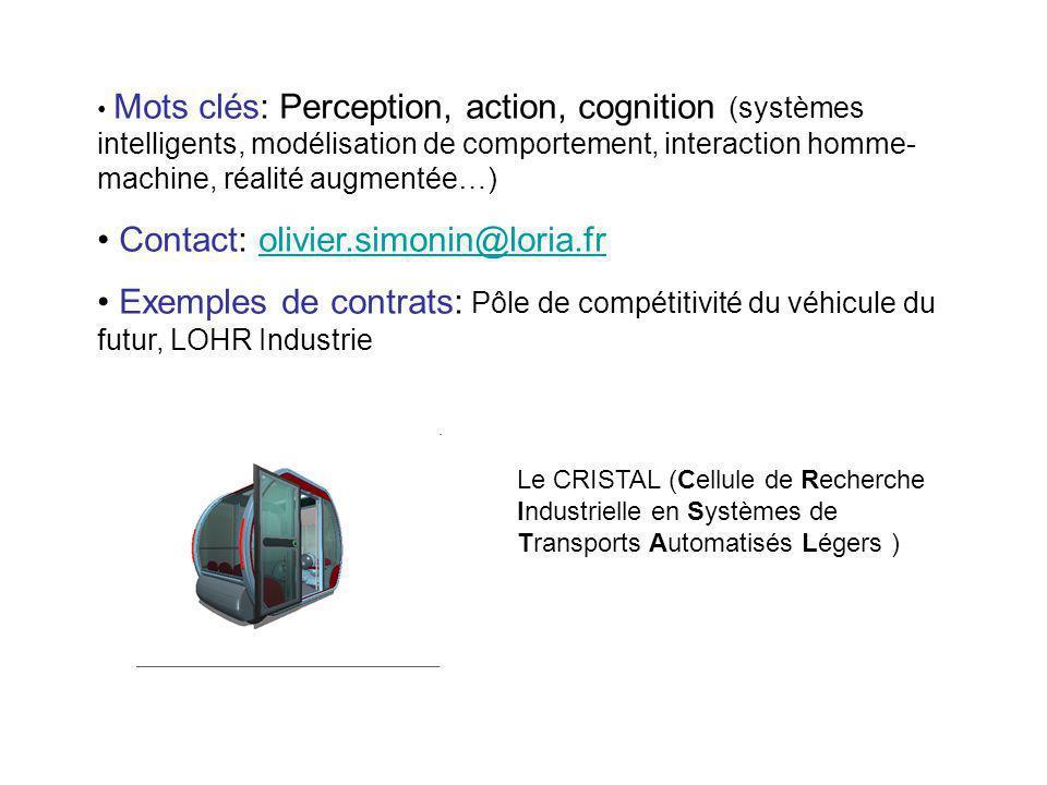 Contact: olivier.simonin@loria.fr