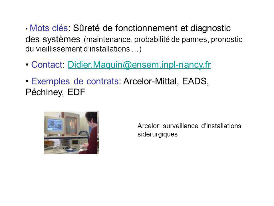 Contact: Didier.Maquin@ensem.inpl-nancy.fr