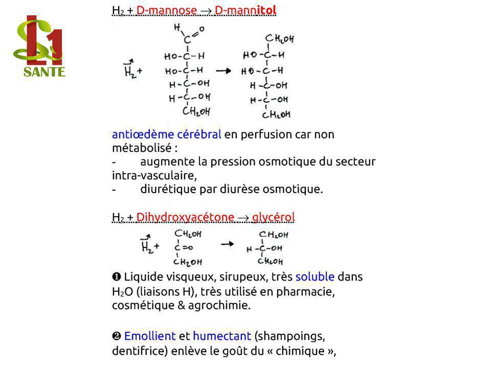 H2 + D-mannose ® D-mann itol