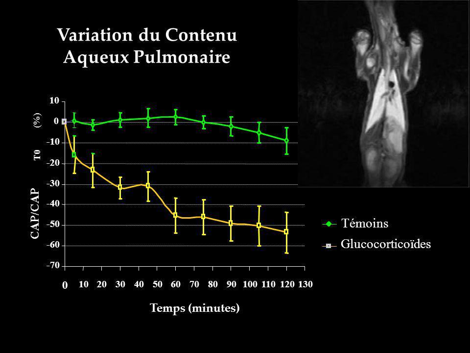 Variation du Contenu Aqueux Pulmonaire