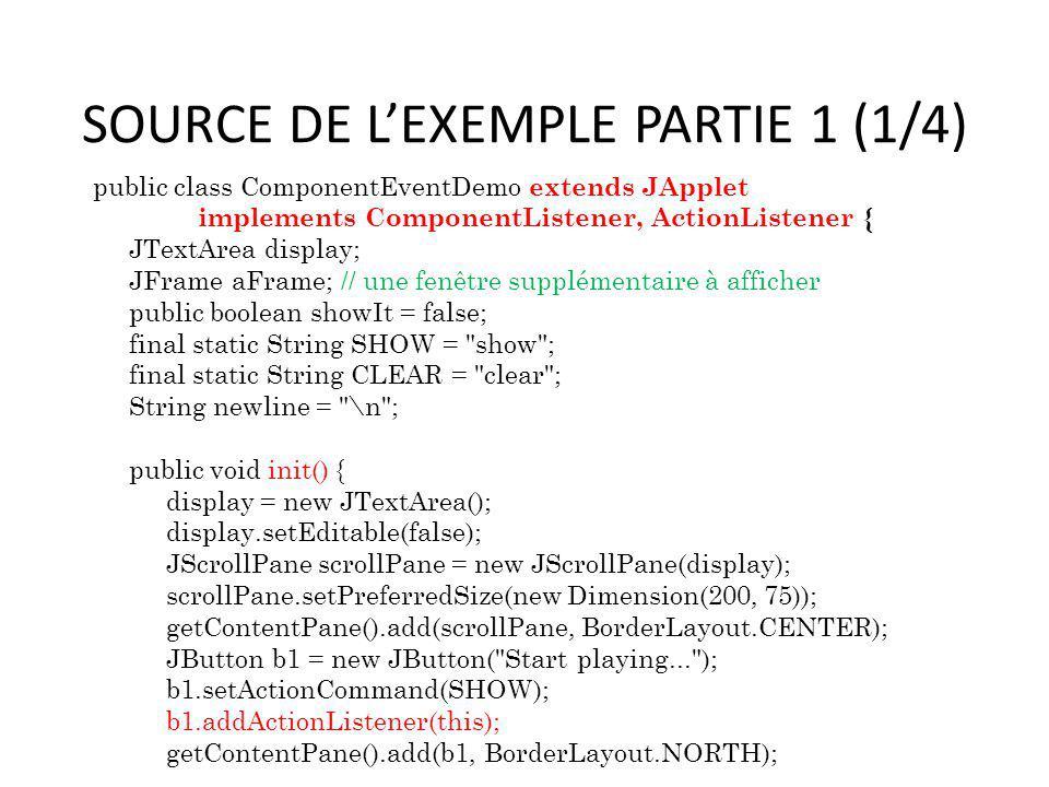 SOURCE DE L'EXEMPLE PARTIE 1 (1/4)