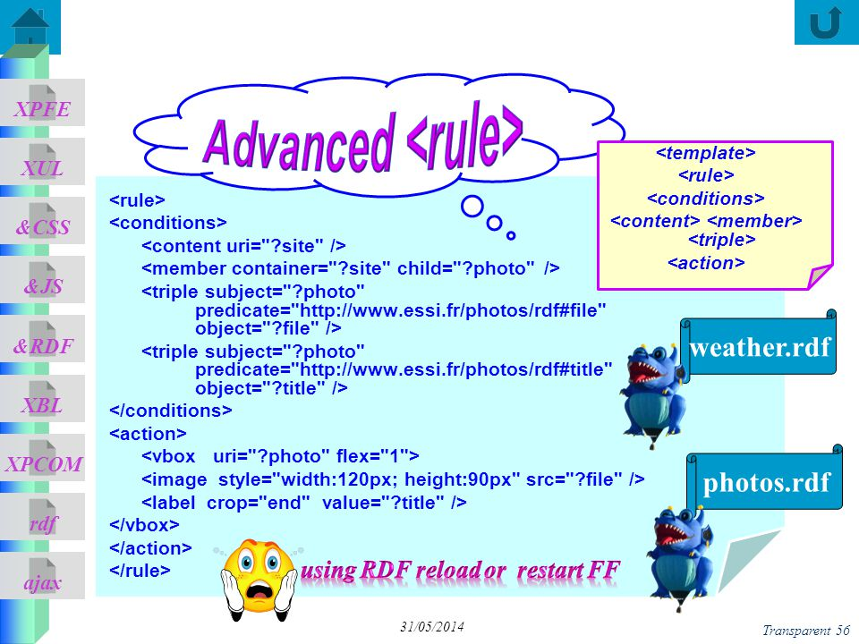 Advanced <rule>