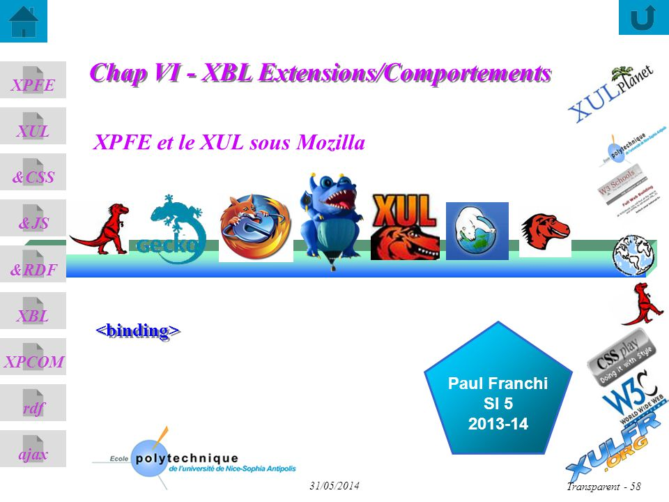 Chap VI - XBL Extensions/Comportements