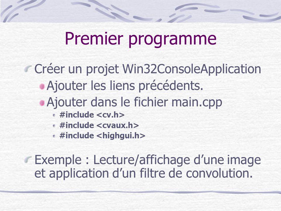 Premier programme Créer un projet Win32ConsoleApplication
