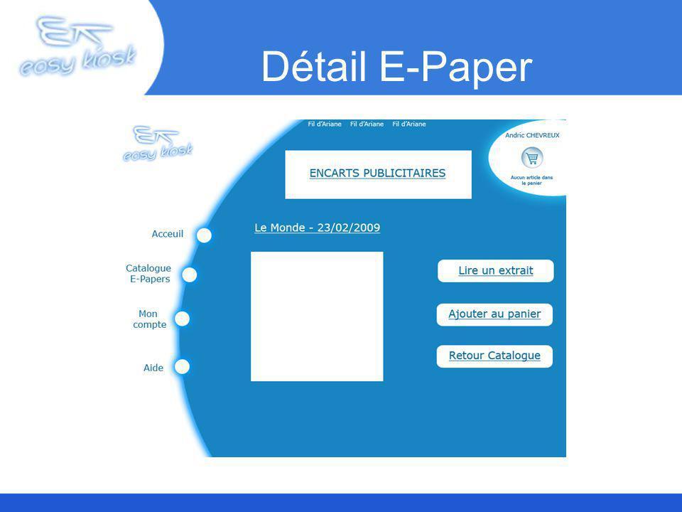 Détail E-Paper
