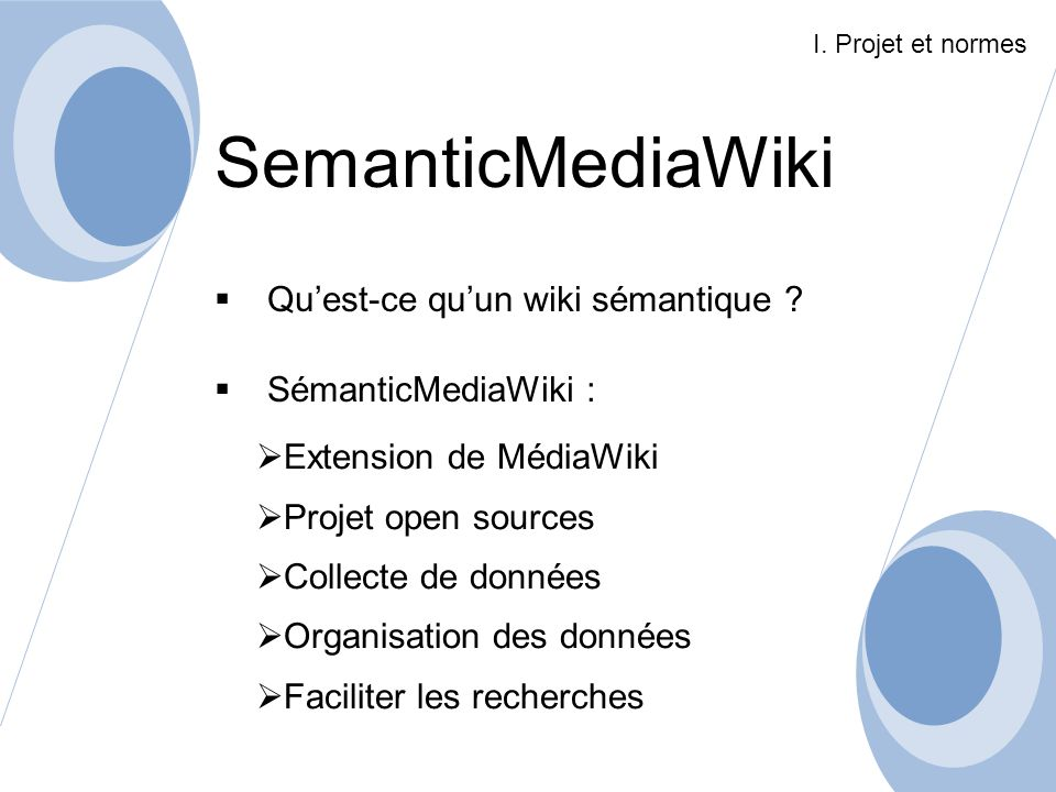 SemanticMediaWiki Qu'est-ce qu'un wiki sémantique
