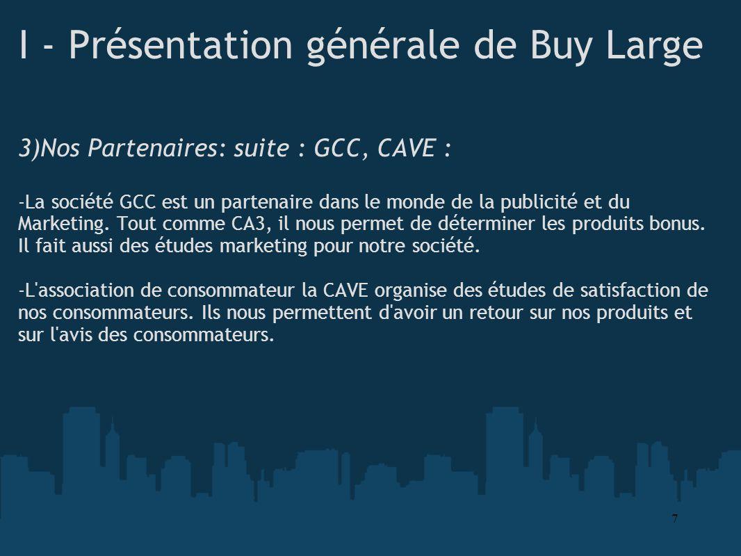 I - Présentation générale de Buy Large