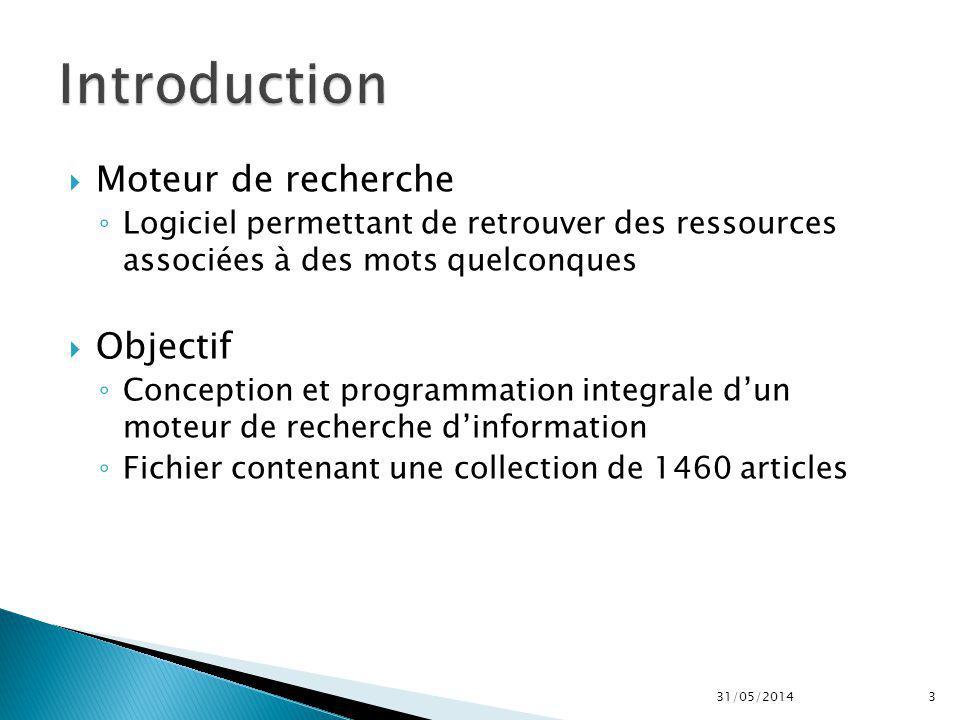Moteur de RechercheMoteur de recherche from scratch