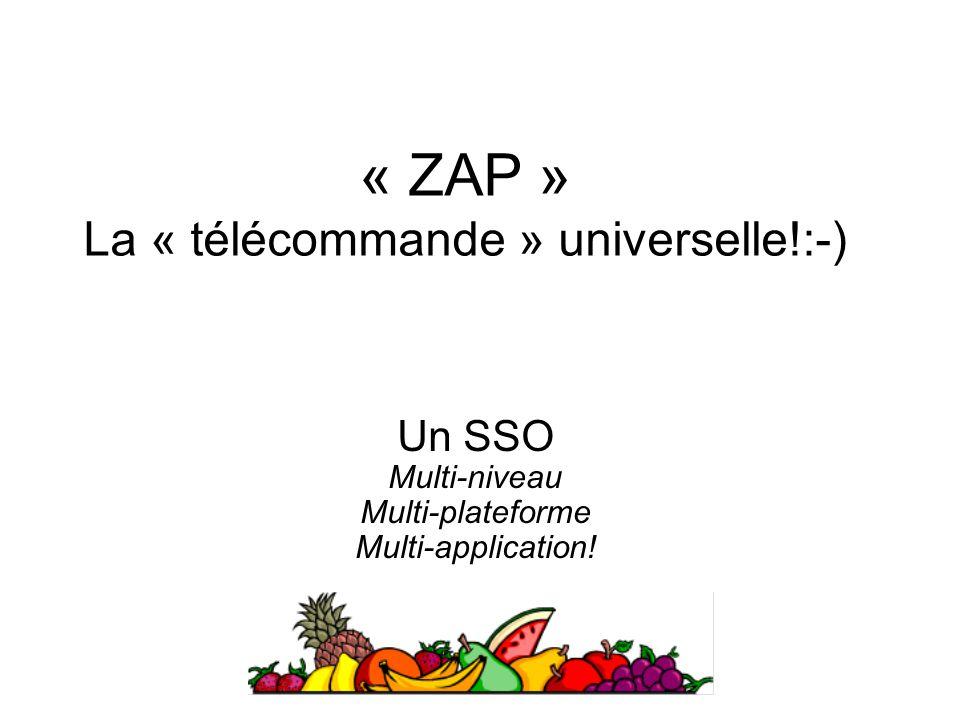 « ZAP » La « télécommande » universelle!:-)