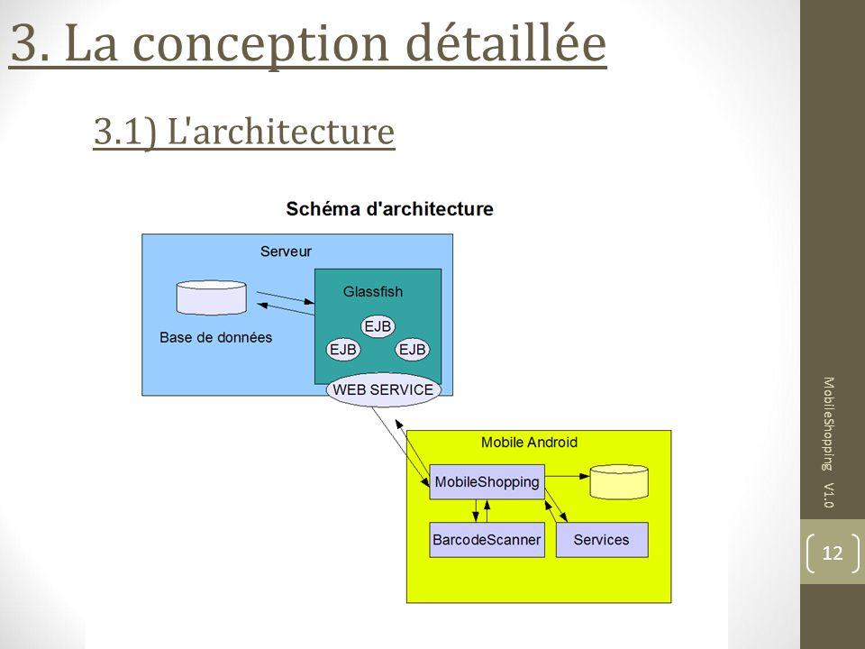 3. La conception détaillée