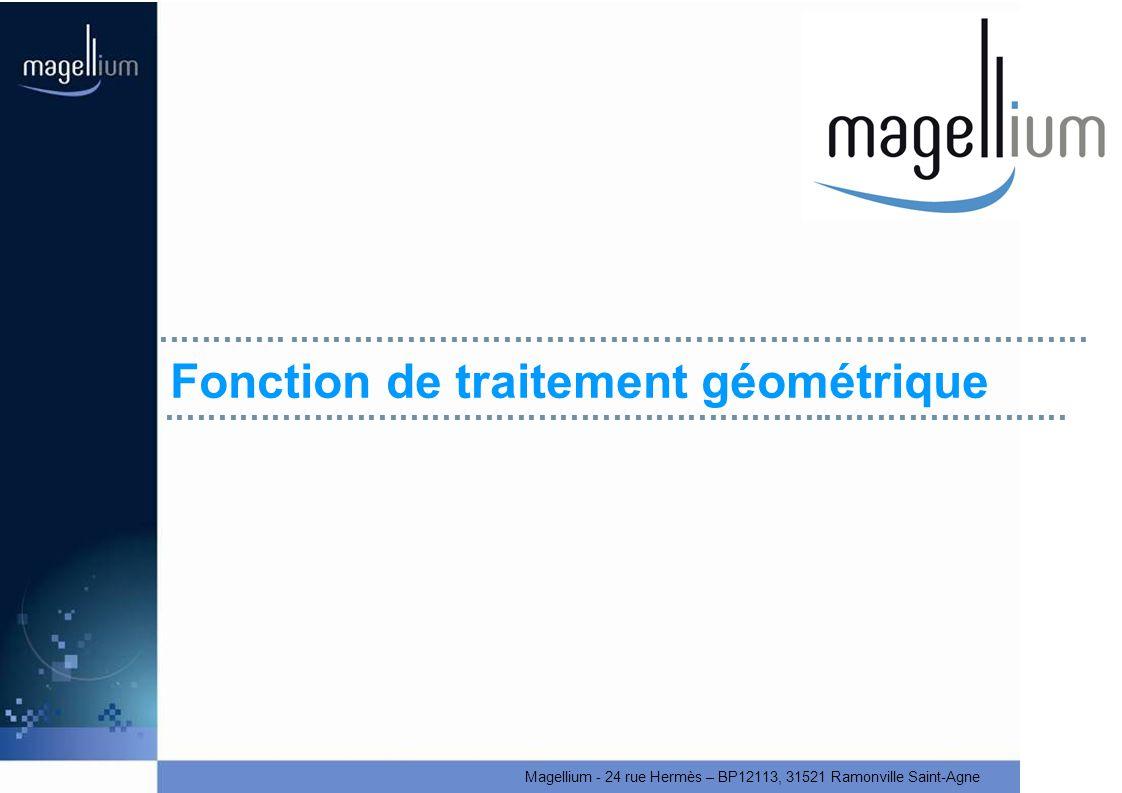 Fonction de traitement géométrique