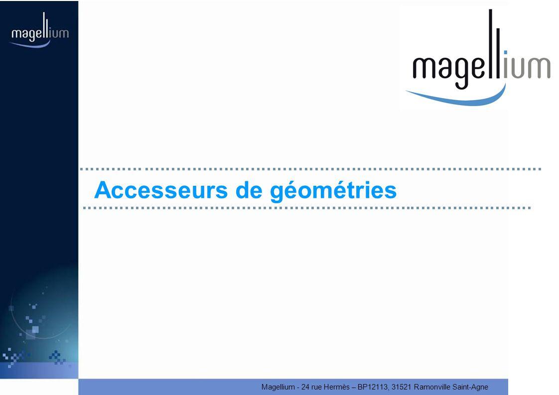 Accesseurs de géométries