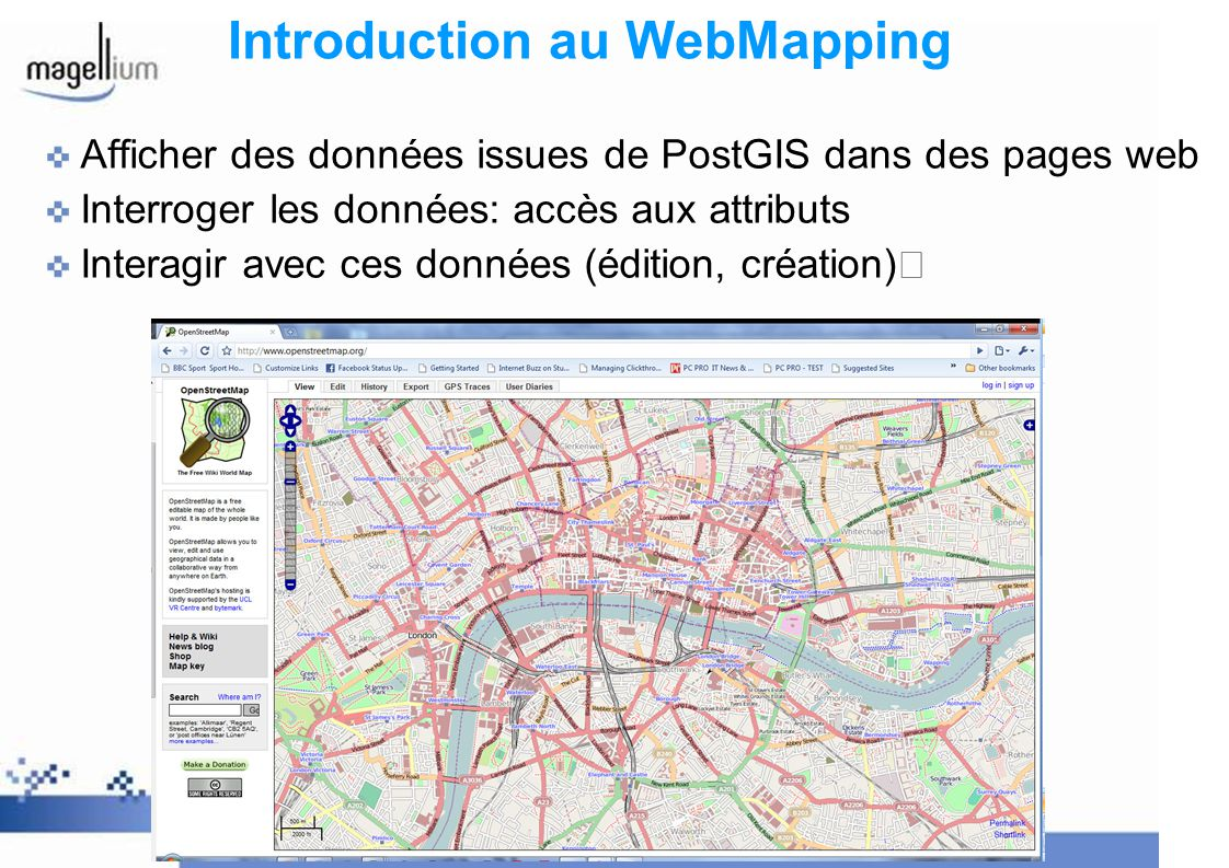 Introduction au WebMapping