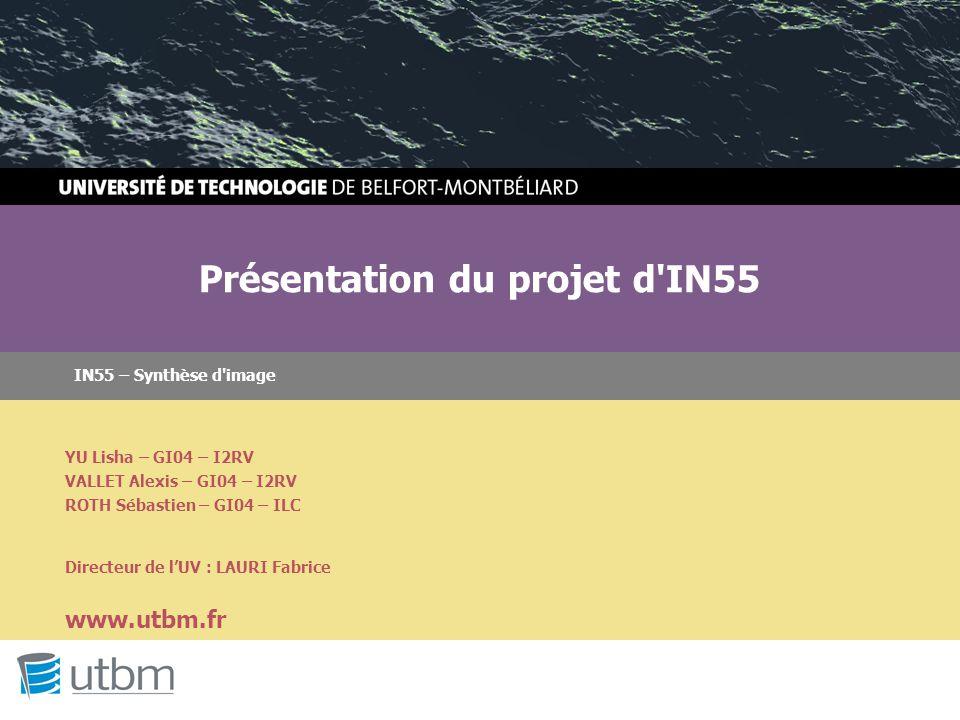 Présentation du projet d IN55
