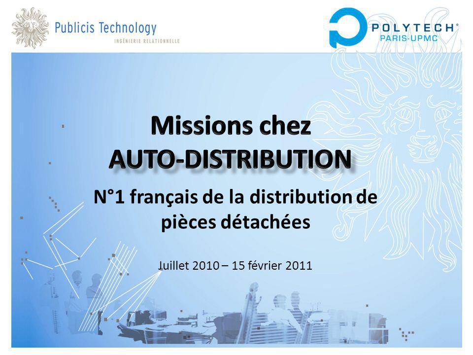 Missions chez Auto-Distribution