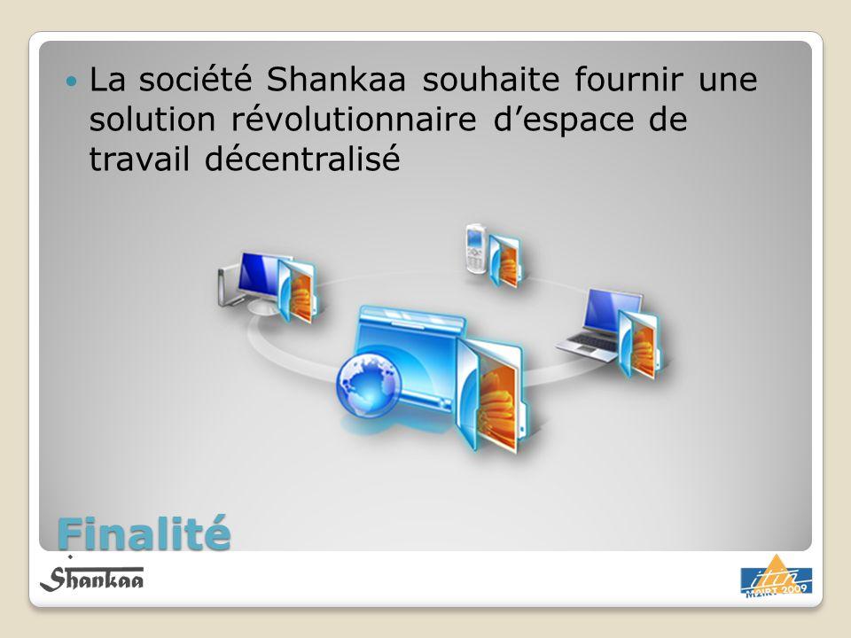 La société Shankaa souhaite fournir une solution révolutionnaire d'espace de travail décentralisé