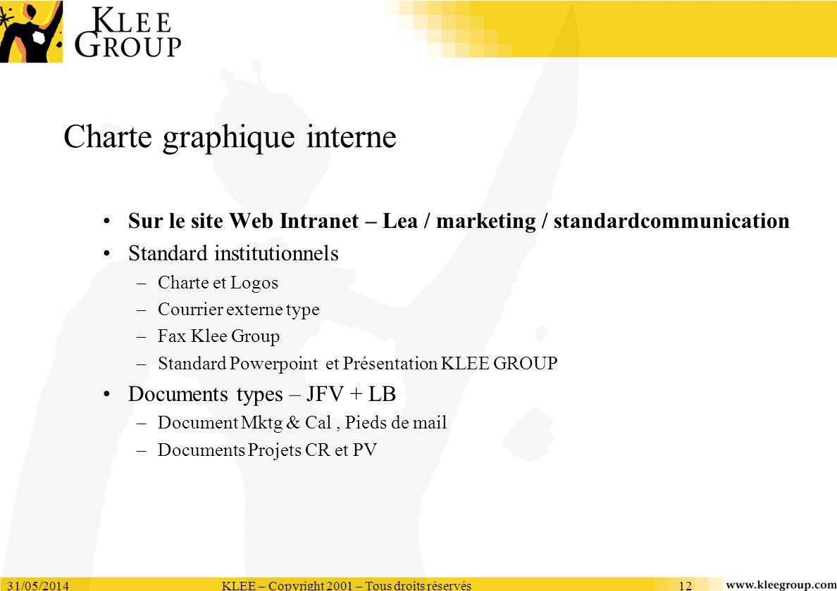 Charte graphique interne