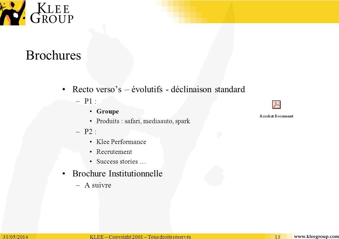 KLEE – Copyright 2001 – Tous droits réservés