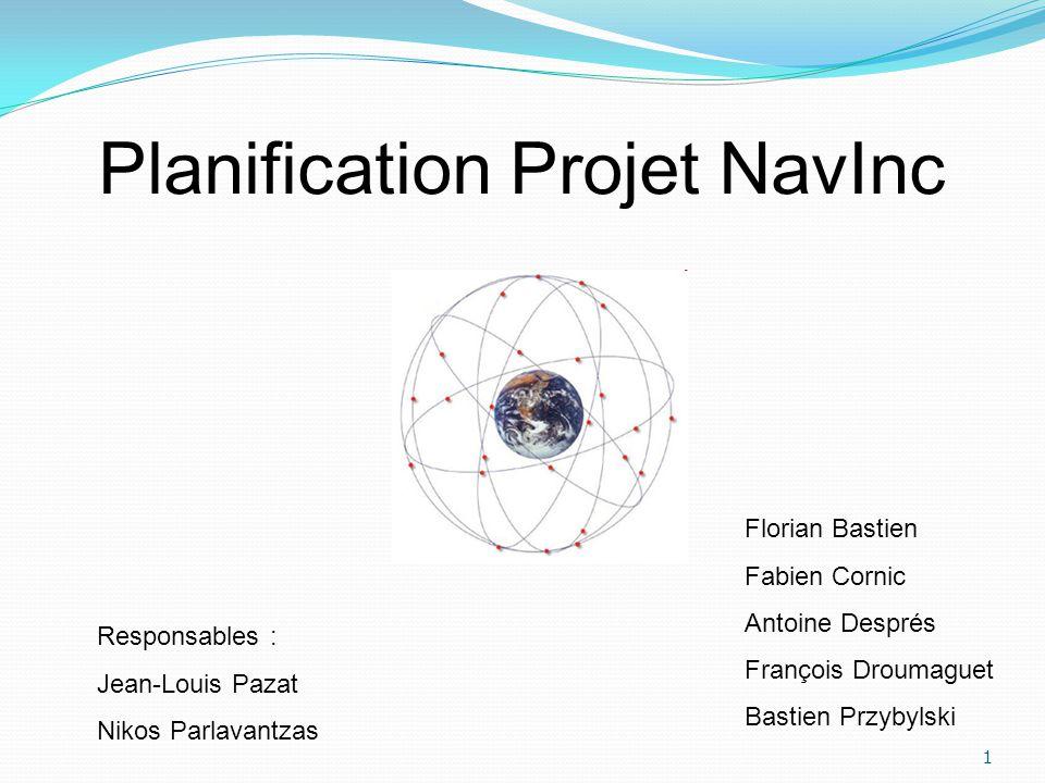 Planification Projet NavInc