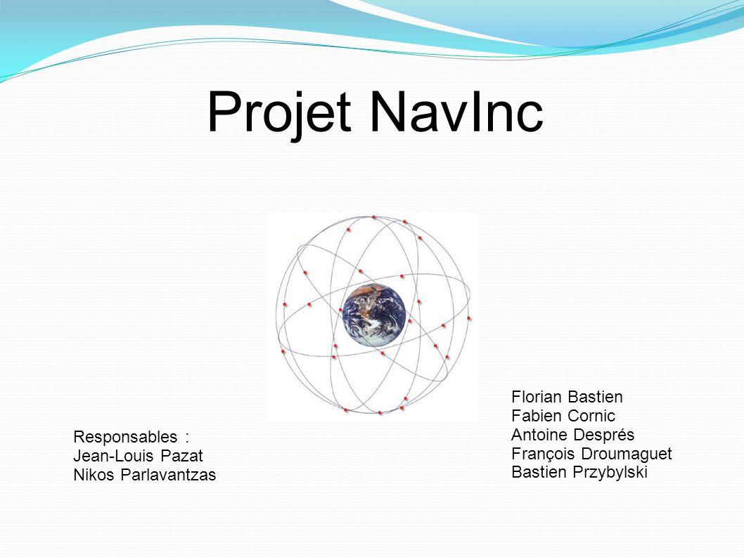 Projet NavInc Florian Bastien Fabien Cornic Antoine Després