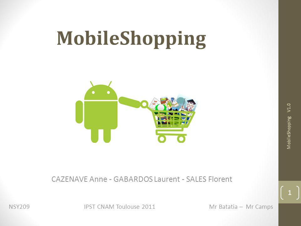 MobileShopping CAZENAVE Anne - GABARDOS Laurent - SALES Florent 1