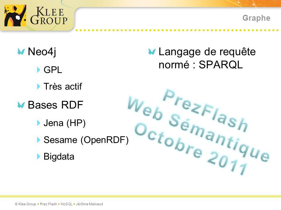 PrezFlash Web Sémantique Octobre 2011