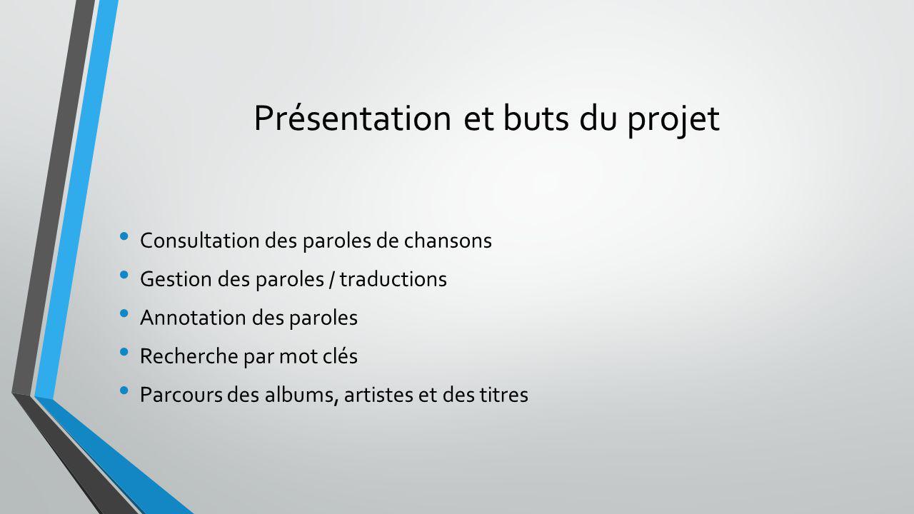 Présentation et buts du projet
