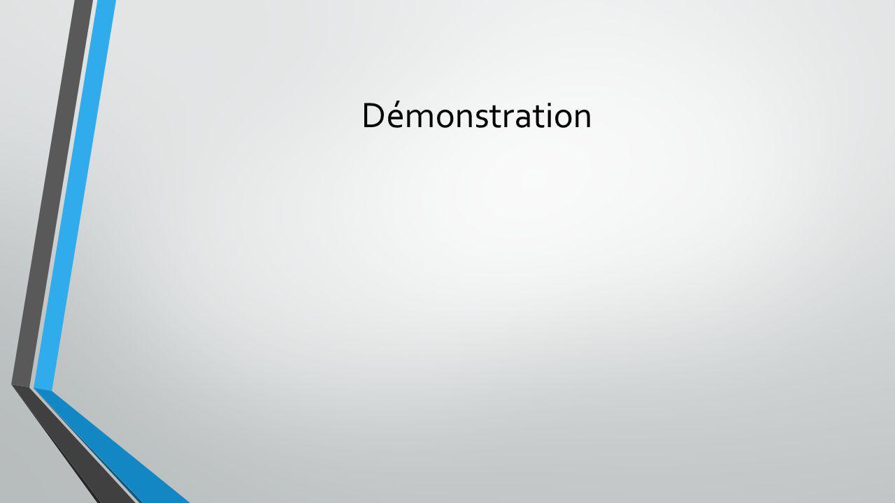 Démonstration