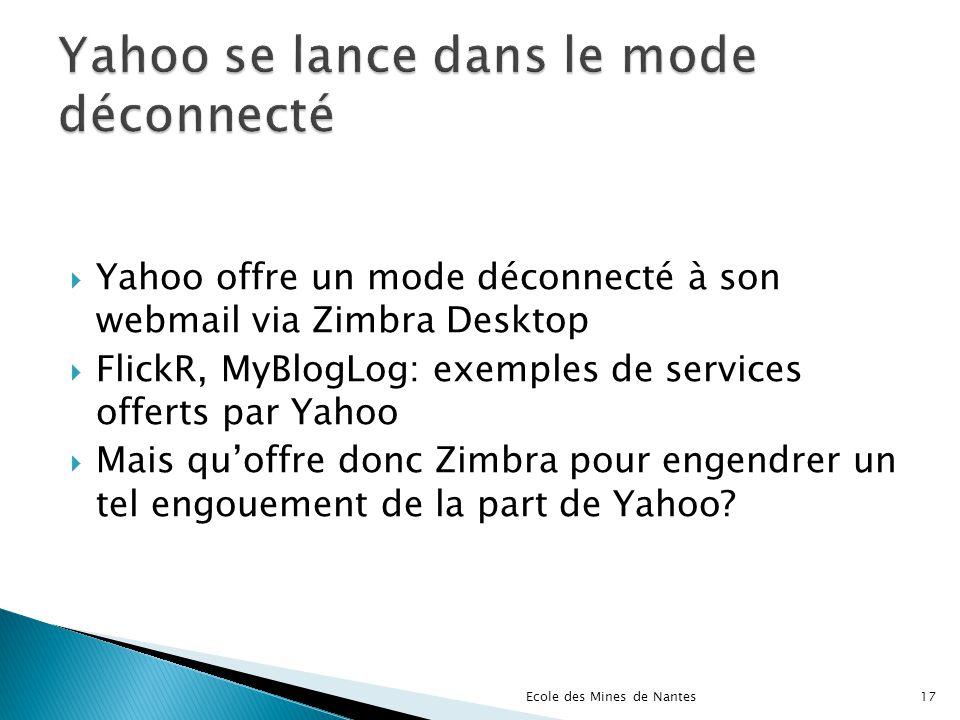 Yahoo se lance dans le mode déconnecté